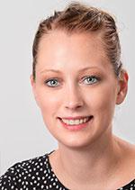 Christine Bienek arbeitet in der Hausverwaltung der VGW Schwäbisch Gmünd