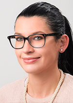 Anja Geiger arbeitet im W-Punkt Schwäbisch Gmünd