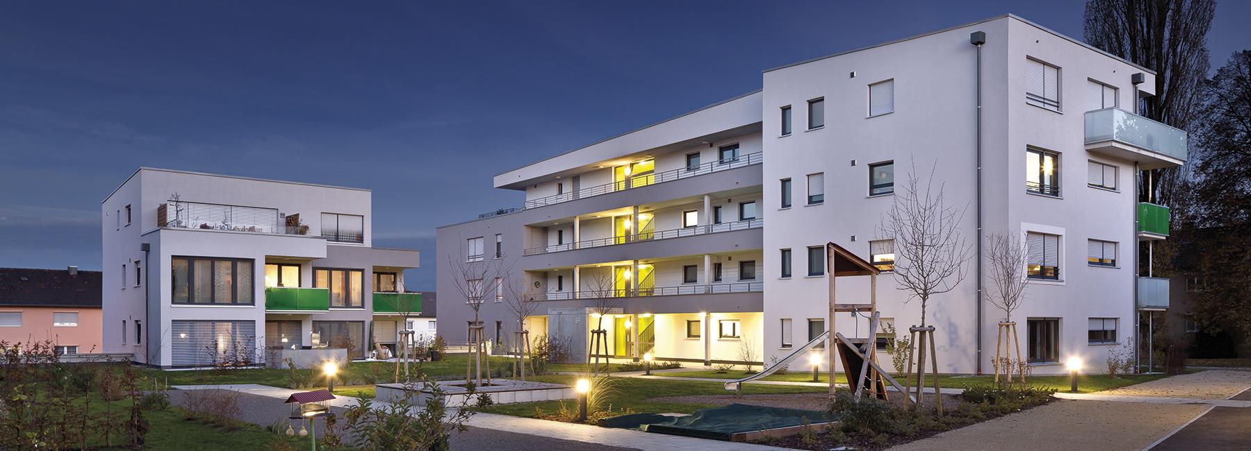 Kaufobjekt Obere Halde Rehnenhof Immobilie gebaut von der VGW Schwäbisch Gmünd