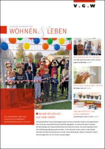 Mieterzeitung Dezember 2017 der VGW Schwäbisch Gmünd