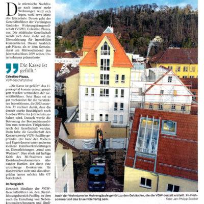 Starke Nachfrage nach neuen Wohnungen sinkt bald
