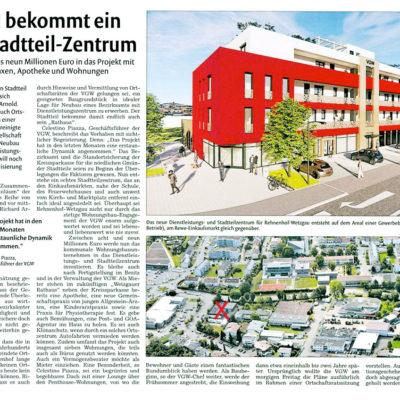 Wetzgau bekommt ein neues Stadtteilzentrum