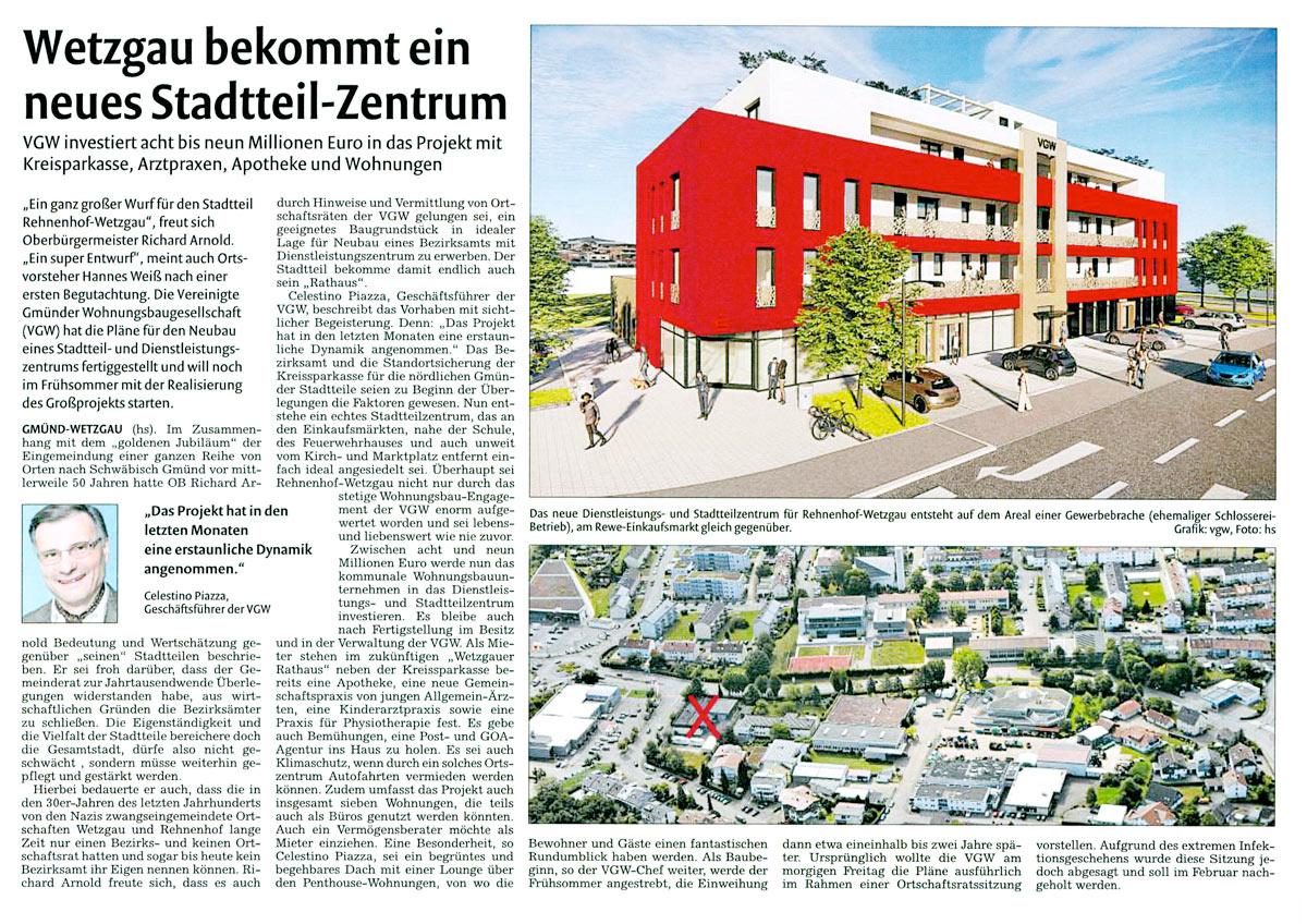 Stadtteilzentrum Wetzgau