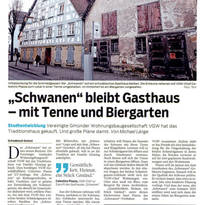 """Schwanen"" bliebt Gasthaus"