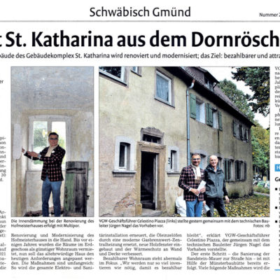 VGW holt St. Katharina aus dem Dornröschenschlaf