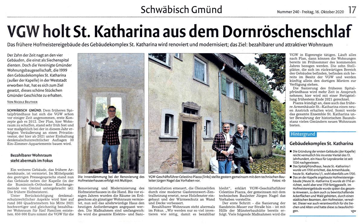 St. Katharina Schwäbisch Gmünd