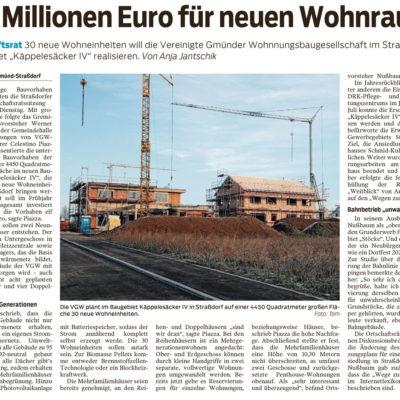 Elf Millionen Euro für neuen Wohnraum