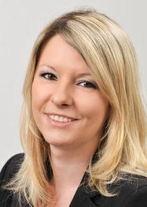 Monika Rösiger arbeitet in der Hausverwaltung der VGW Schwäbisch Gmünd