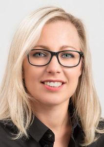 Ines Eberle arbeitet in der Hausverwaltung der VGW Schwäbisch Gmünd