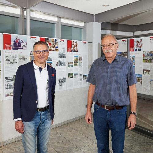 Ausstellungseröffnung 100 Jahre VGW