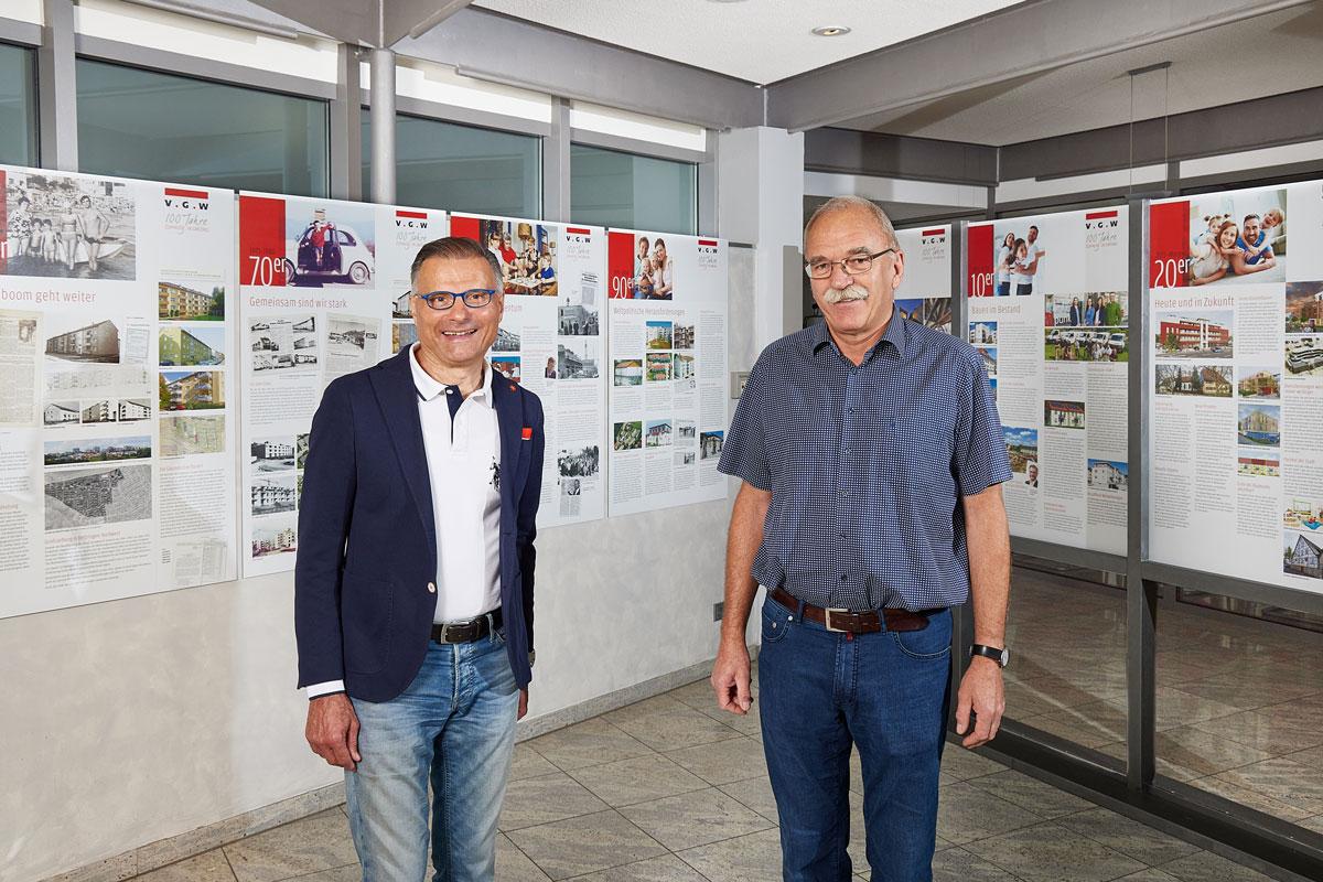Ausstellung Jubiläum der VGW