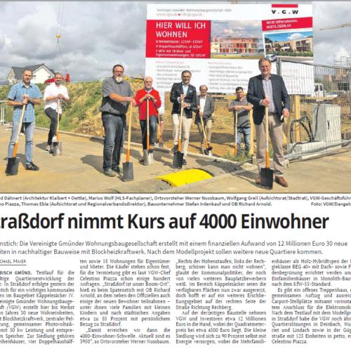 30 neue Wohneinheiten in Straßdorf, Käppelesäcker IV